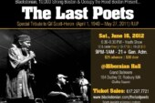 The Last Poets – Live in Boston on Juneteenth