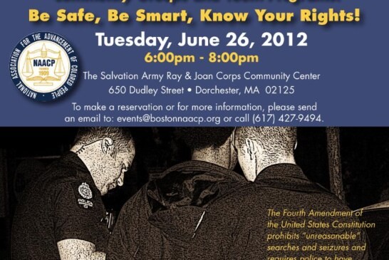 NAACP Stop and Search Workshop