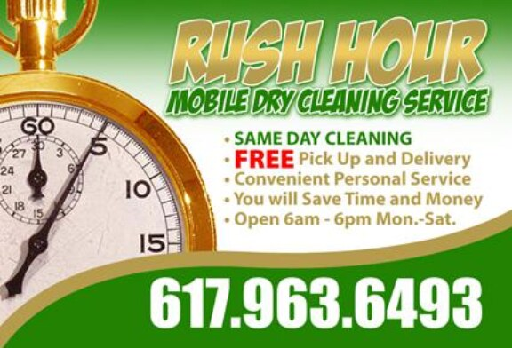 Rush Hour Mobile Dry Cleaning – Free Pickup/Delivery Same Day Service