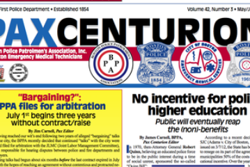 Boston Police Union Newspaper under fire… finally