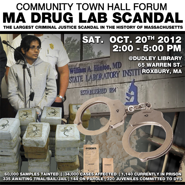 MA drug lab scandal