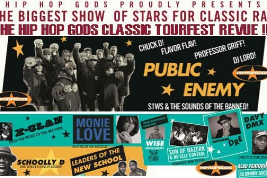 Hip-Hop Gods Tour: PE, X-Clan, Wise Intelligent and more in Boston 12/2