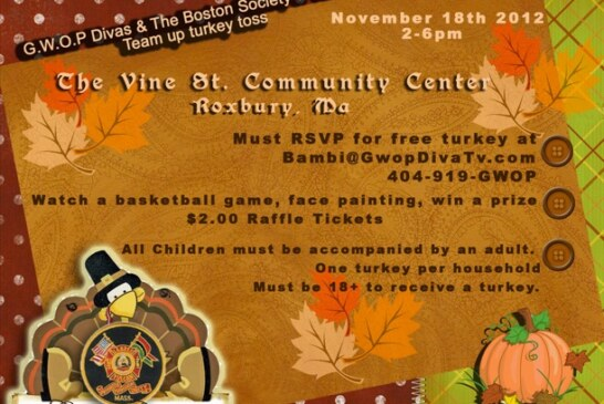 Team Up Turkey Toss Giveaway 11/18