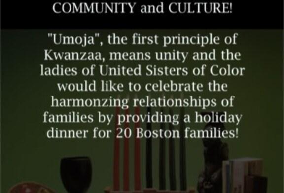United Sisters of Color Umoja Dinner 12/26