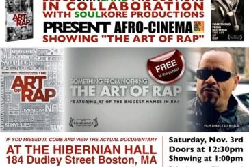 AFRO-CINEMA: THE ART OF RAP