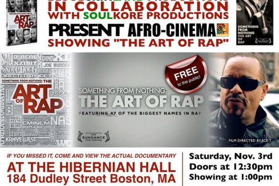 AFRO-CINEMA: THE ART OF RAP