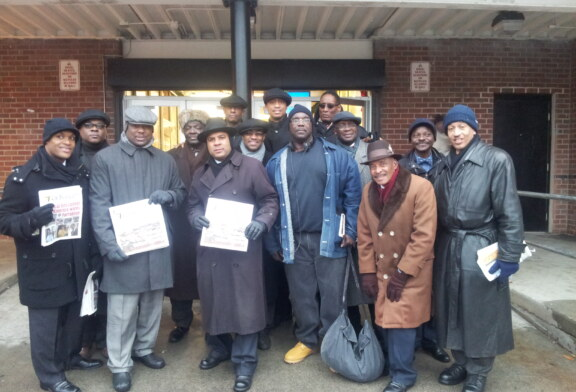 Blackstonian Out & About Photo: Fruit of Islam (FOI) out in Roxbury