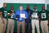 Cathedral coach Duane Sigsbury named New England Patriots High School Coach of the Week