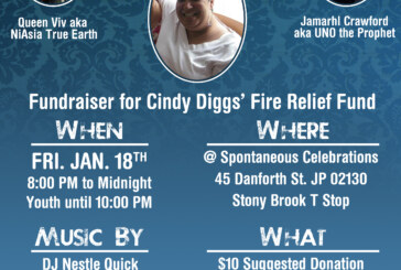 Fundraiser for Cindy Diggs Fri. Jan. 18th
