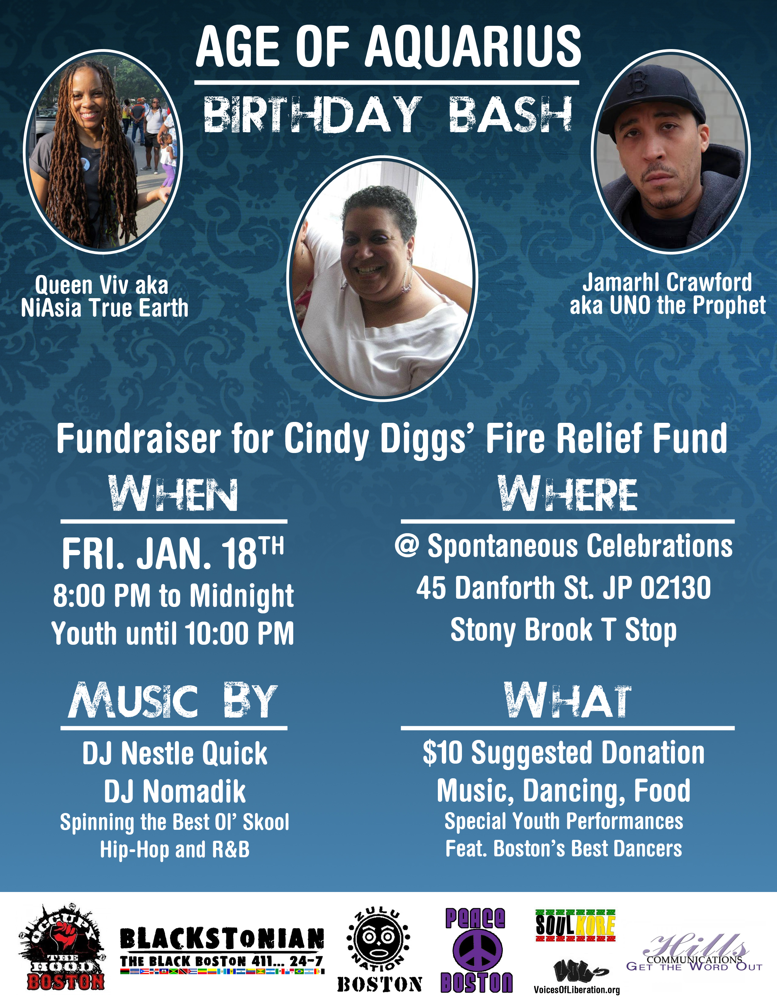 cindy diggs fundraiser flyer