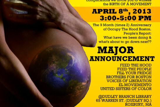 Birth of a Movement – Occupy The Hood Boston Update & Announcement