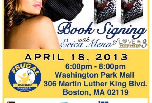 Erica Mena (VH1 Love & Hip Hop) Roxbury Booksigning 4/18