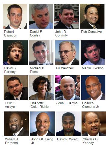 Boston Mayor 2013 - candidates of color
