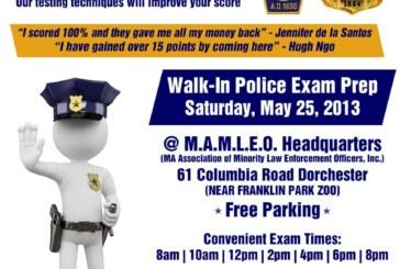 Boston Police Exam Test Preparation 5/25