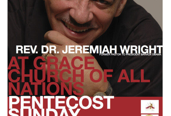 Rev. Jeremiah Wright in Boston Sun. 5/19