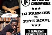 DJ Premier vs. Pete Rock – Middle East July 18