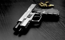 Gun pistol ammunition