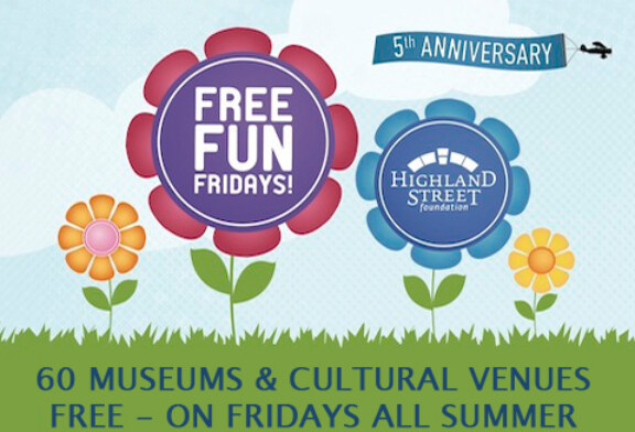60 spots for Free Fun Fridays this Summer
