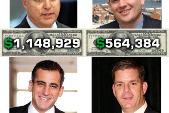 Mayoral Money Team Top 10 in a dash for campaign cash