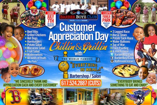 "Customer Appreciation ""Chillin & Grillin"" Everything is Real 7/7"