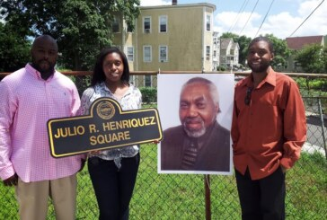 Julio Henriquez honored with dedication of Square in Roxbury
