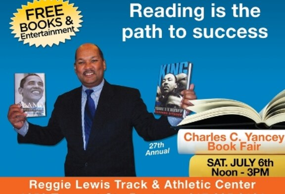 27th Annual Charles C. Yancey Book Fair 2013 7/6