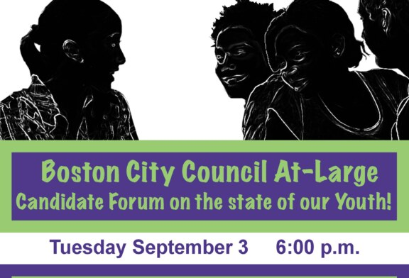 At-Large Council Candidates Youth Forum Tue. 9/3