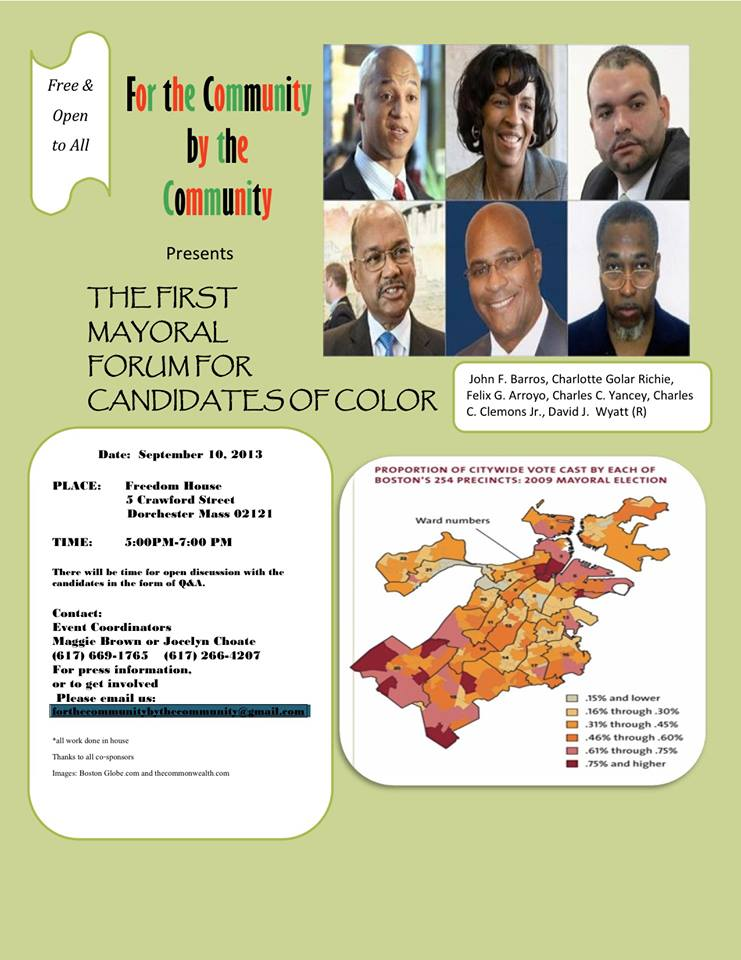 POC Mayoral forum