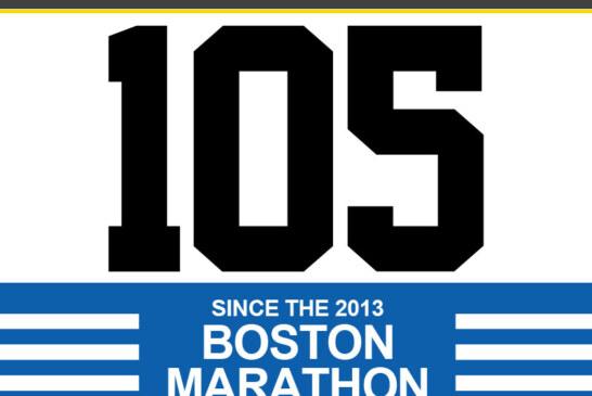 At least 105 Shootings since Boston Marathon