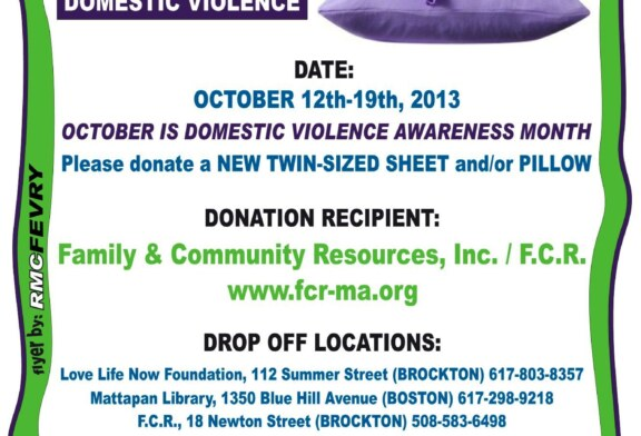 4th Annual Bedding Drive Against Domestic Violence