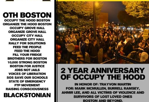 Organize the Hood Boston / 2 Year Anniversary of Occupy the Hood