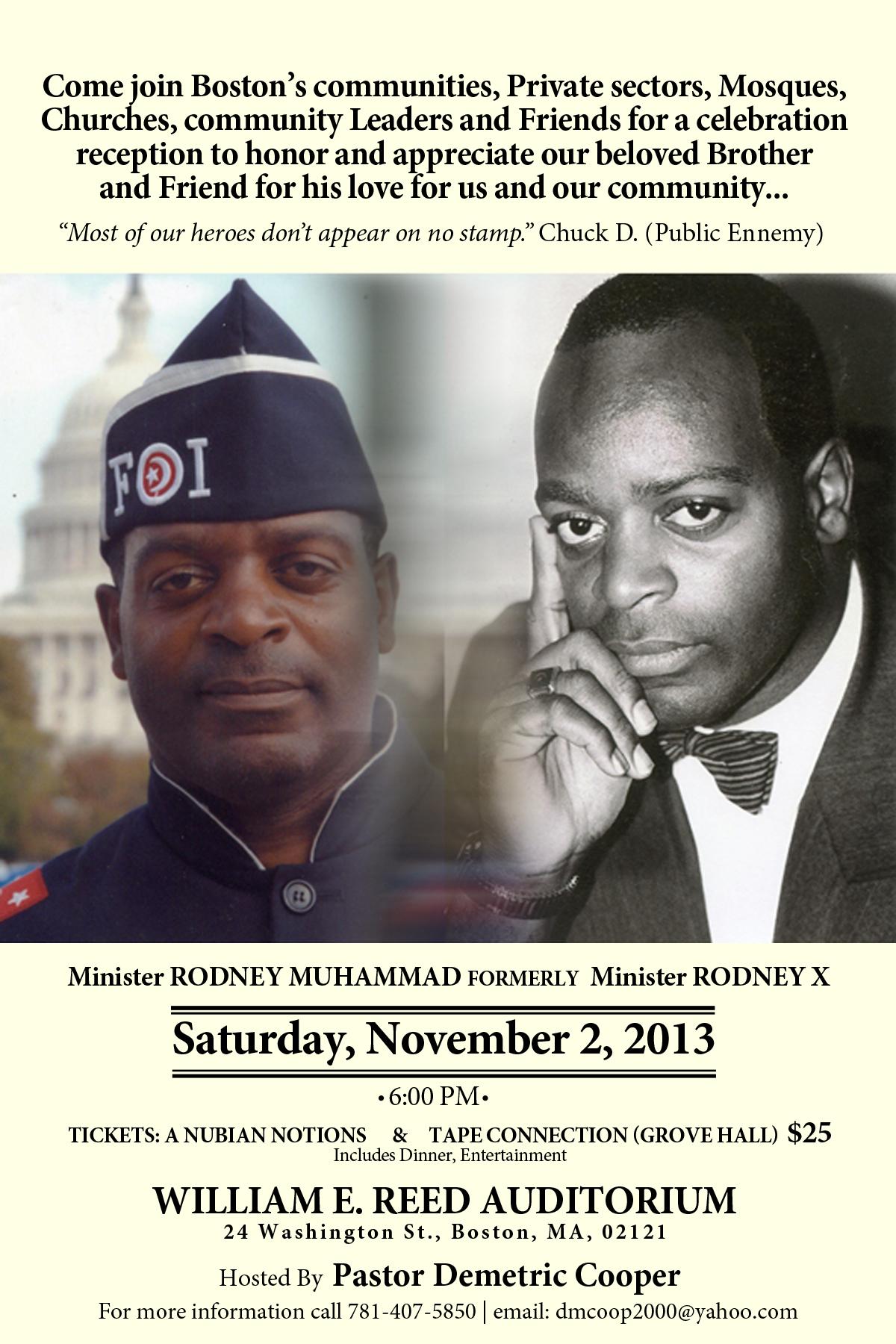 rodney muhammad tribute