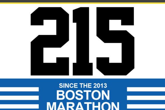 2 Homicides, 1 Non-fatal shooting over weekend; 215 Shot Since Boston Marathon (33 Fatal)