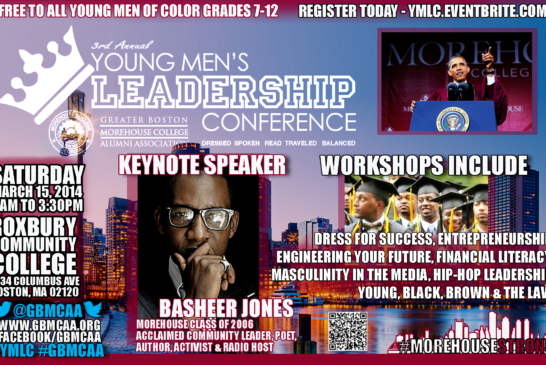 3rd Annual Young Men's Leadership Conference 3/15