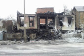 Fire Destroys Warren St. Building