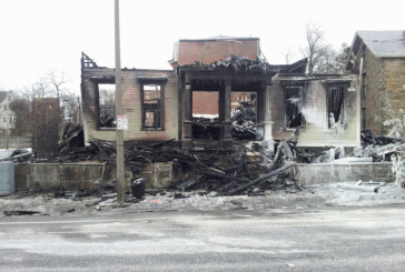 Fire Destroys Warren St. Building