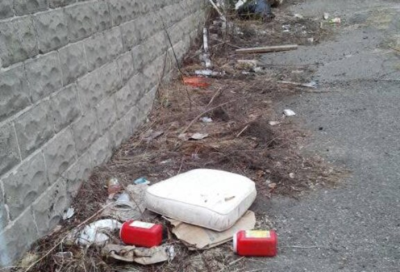 U-Report: Amory St. Site Littered With Needles
