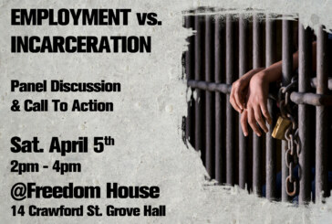 Jobs Not Jails – Community Town Hall Forum Sat. April 5