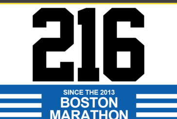 216 Shot since Boston Marathon