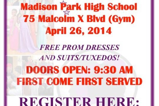 """Operation Prom Dress & Tuxedo """"A Day At The Boutique"""" 4/26"""