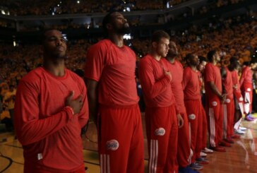 NBA players protest racist talk attributed to L.A. Clippers owner Donald Sterling