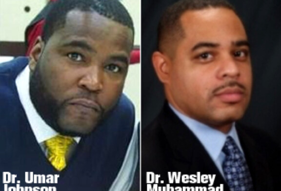 Dr. Wesley Muhammad & Dr. Umar Johnson in Boston May 17