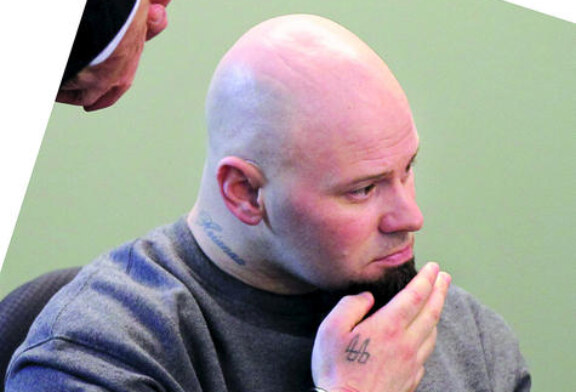 Jared Remy Flashes Neo-Nazi Tattoo In Court Appearance