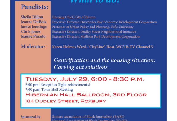 Development & Displacement in Boston 7/29