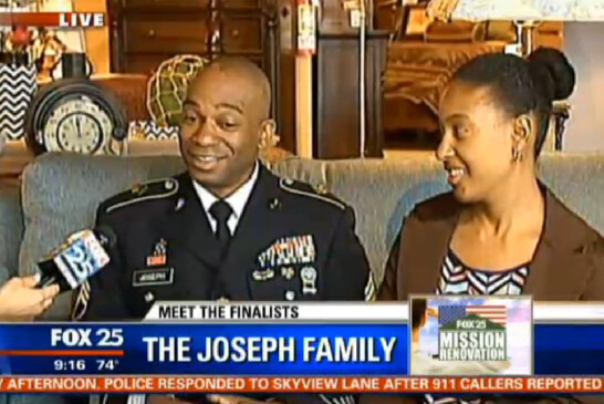 VOTE For Joseph Family To Win FOX 25 Home Renovation