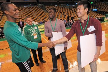 Celtics Star Rajon Rondo, Co-owner Steve Pagliuca & Sun Life Financial Present $110,000 in Grants and Scholarships