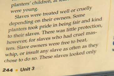 "Brookline Parents Outraged By ""Happy Slaves"" In Textbook"