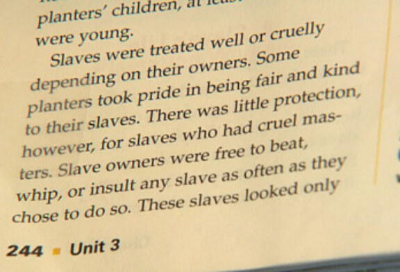 """Brookline Parents Outraged By """"Happy Slaves"""" In Textbook"""