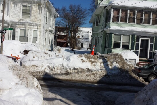 City Must Help Residents It Buried With Snow