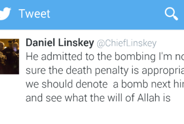 "Former BPD Chief Linskey invokes ""The Will Of Allah"" On Twitter"